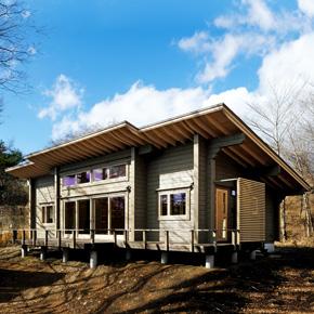 2018年5月13日(日)<br>ログハウス完成見学会 長野県北佐久郡軽井沢町