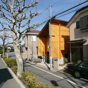 住宅地の景観にも違和感なくなじむ外観デザイン