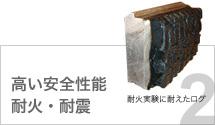 高い安全性能  耐火・耐震
