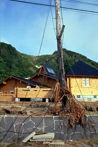 奥尻島地震に耐えた耐震性