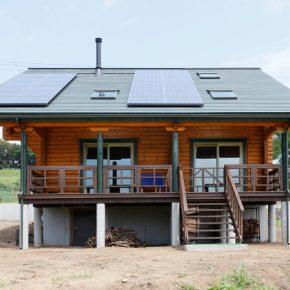 太陽光発電も搭載。