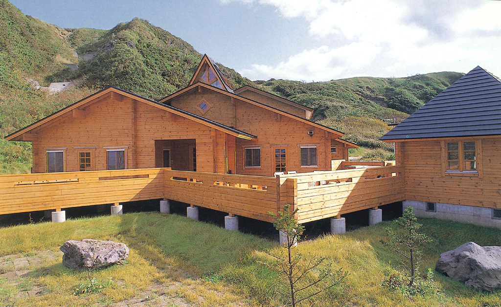 大地震に耐えた奥尻島のレストラン