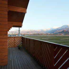 八海山を望む素晴らしい眺望