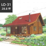 ロフト LO-31<br>折れ屋根スタイルが個性的なロフトモデル