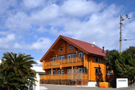 高知県のログハウス滞在型健康宿泊施設