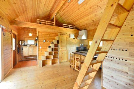 石垣島の平屋ログハウス