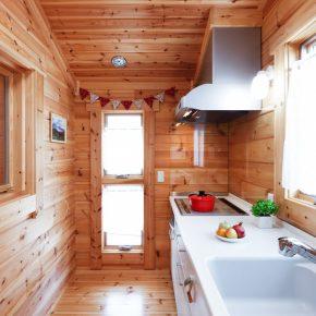 2階リビングと朝日が入るキッチンが快適!
