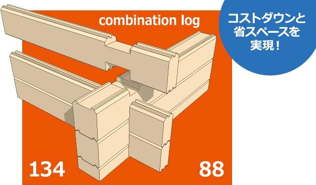 コンビネーションログ発売! 発売記念モニター募集 2016年3月31日まで