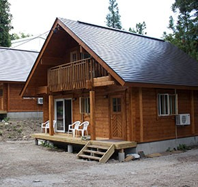 TALOログハウスの宿泊コテージがオープン!