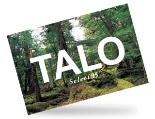 TALO PLAN BOOK、TALO CONCEPT BOOK