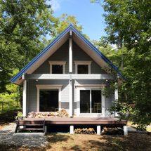 美しい緑に囲まれた別荘で、贅沢なひとときを満喫
