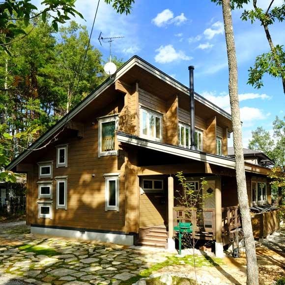 静けさが心地よい、モダンな北欧スタイルの別荘