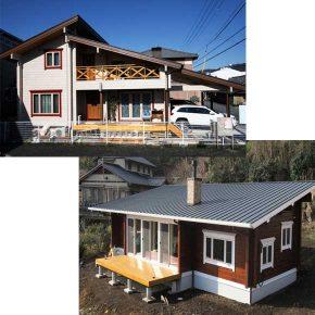2020年1月25日(土)・26日(日) 2棟同時!ログハウス完成見学会 静岡県静岡市・富士宮市