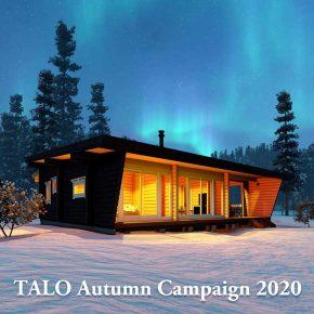 秋の自由設計キャンペーン開催 2020年12月25日まで