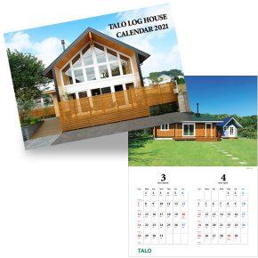 TALOログハウスカレンダー2021 プレゼント!