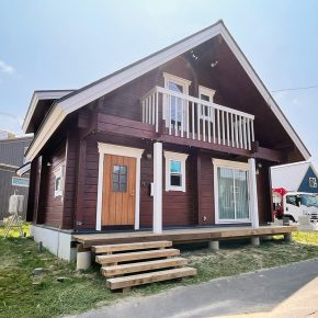 2021年8月 北海道北広島市に檜ログのオープンハウスが誕生しました!